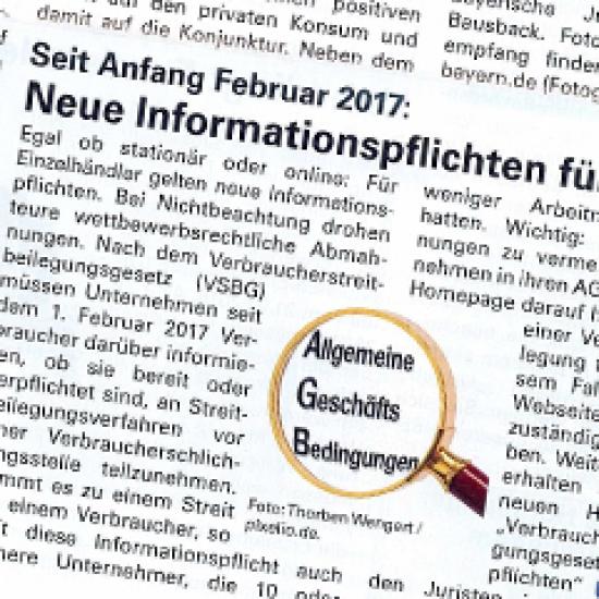 Neue Informationspflichten für Händler!